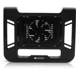"""Canyon CNR-FNS01 chladič s ventilátorom pre notebook do 17"""", čierny"""