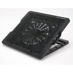 """Zalman chladič pre notebook do 16"""", 18cm fan, čierny (výškovo nastavitelný) ZM-NS1000"""