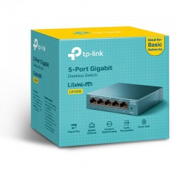TP-Link LS105G, Switch 5-Port/1000Mbps/Desk