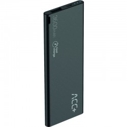 MAXCOM Power Bank ACC+ THIN 3600 mAh, FastCharge THIN3600BK