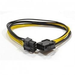 Gembird kábel interný napájací predlžovací 6+2 pin PCI express, 0.3 m CC-PSU-84