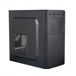 Eurocase MC X204 EVO, skrinka mATX, bez zdroja, USB3.0, 2xUSB2.0,...