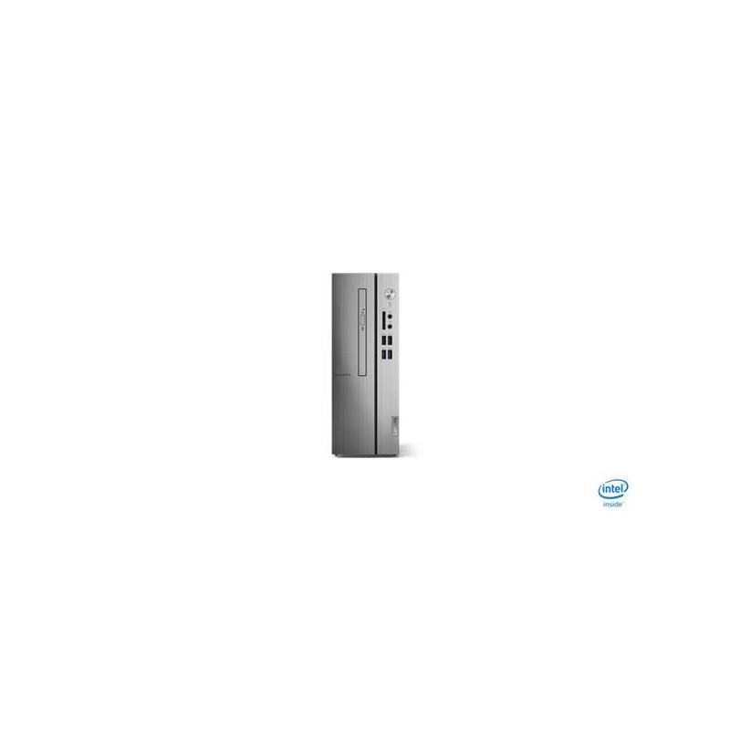 Lenovo IC 510s-07 TWR i3-9100 4.2GHz NVIDIA GT730/2GB 8GB 1TB W10 strieborny 2yMI 90K800GFCK