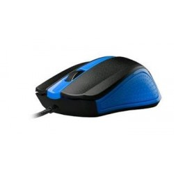 C-TECH myš WM-01, modrá, USB WM-01B