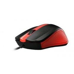 C-TECH myš WM-01, červená, USB WM-01R