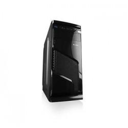 Modecom PC skříň LOGIC K1 MIDI, 1x USB 3.0, 2x USB 2.0 + audio HD, černá, bez zdroje AT-K001-10-0000000-0002
