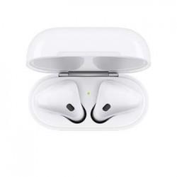 Apple AirPods bezdrátová sluchátka s bezdrátově nabíjecím pouzdrem...