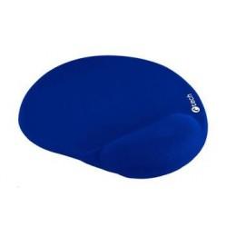 C-TECH podložka pod myš gelová MPG-03, modrá, 240x220mm MPG-03B