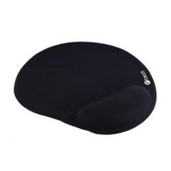 C-TECH podložka pod myš gelová MPG-03, černá, 240x220mm MPG-03BK