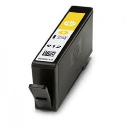 HP 912 Yellow Original Ink Cartridge stran - 315 stran pro OJ 8023...