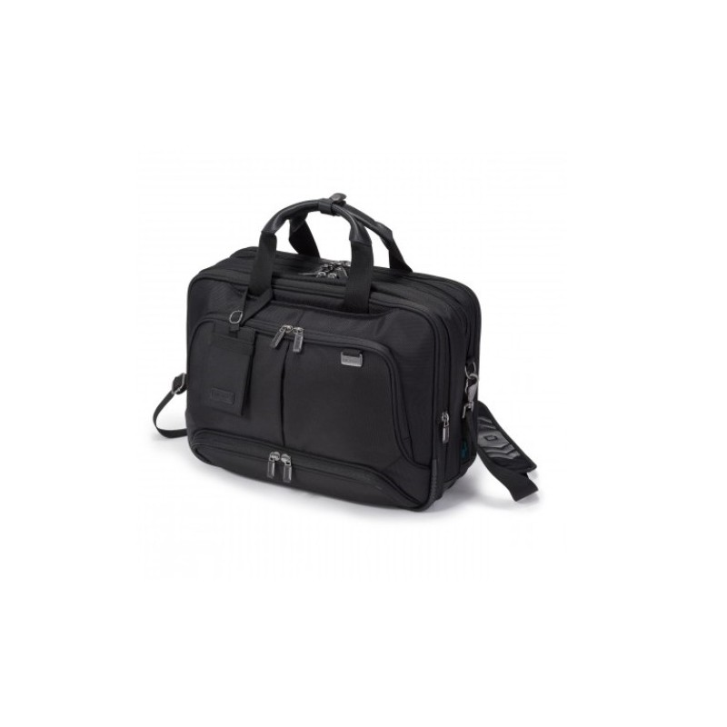 DICOTA_Top Traveller Twin PRO 14-15.6, Expandable bag with functionality and lots of storage space D30844