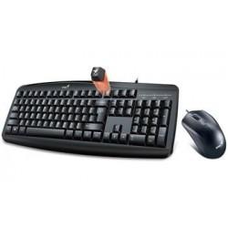 GENIUS Smart KM-200 set klávesnice a myši, drátový, CZ+SK layout, USB, černý 31330003403