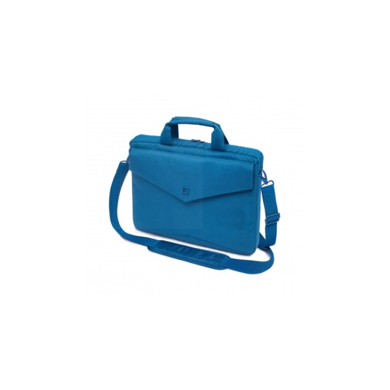 DICOTA_Code Slim 11, Stylish and slim notebook case with tablet pocket blue D30602