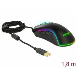 Delock Optická sedmitlacítková herní myš USB - pro praváky 12670