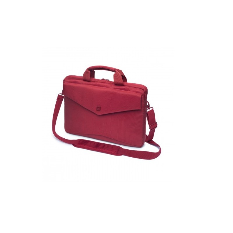 DICOTA_Code Slim 15, Stylish and slim notebook case with tablet pocket red D30607
