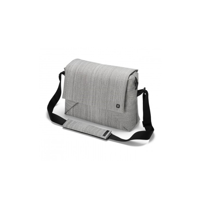 DICOTA_Code Messenger 11-13, Stylish notebook bag with tablet pocket grey D30562