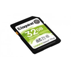 KINGSTON 32GB SDHC CANVAS Plus Class10 UHS-I 100MB/s Read Flash...