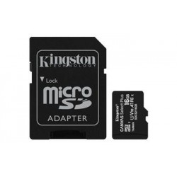 KINGSTON 16GB microSDHC CANVAS Plus Memory Card 100MB read - UHS-I...