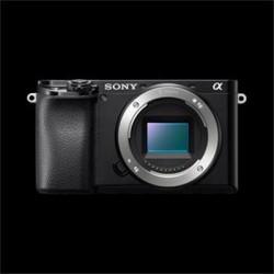 SONY ILCE-6100 Fotoaparát Alfa 6100 s bajonetem E + 16-50mm objektiv ILCE6100LB.CEC