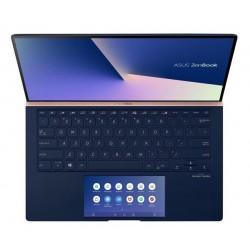 """ASUS Zenbook UX434FLC-A5164T Intel i7-10510U 14"""" FHD matny MX250/2GB 16GB 1TB SSD WL BT Cam W10 modrý;ScreenPad"""