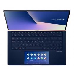"""ASUS Zenbook UX534FTC-A8186R Intel i7-10510U 15.6"""" FHD mat GTX1650/4GB 16GB 1TB SSD WL BT Cam W10PRO modrý;ScreenPad,"""