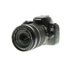 Canon EOS M200 Black + EF-M 15-45mm + EF-M 55-200 3699C018
