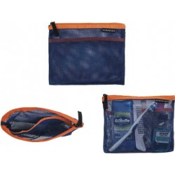 Crumpler The Intern Cosmetic Pouch S - ocean blue / orange TICP-S-001