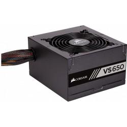 Corsair zdroj 650W VS series VS650, 80 PLUS, White Certified, 120mm ventilátor CP-9020172-EU