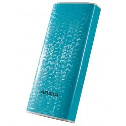 ADATA PowerBank P10000 - externí baterie pro mobil/tablet 10000mAh, modrá AP10000-DUSB-CBL
