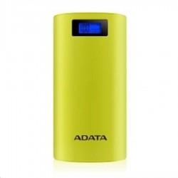 ADATA PowerBank P20000D - externí baterie pro mobil/tablet 20000mAh, 2,1A, žlutozelená/yellow green AP20000D-DGT-5V-CYL