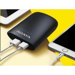 ADATA PowerBank P10050V - externí baterie pro mobil/tablet 10050mAh, 2,0A, černá/black AP10050V-DUSB-CBK