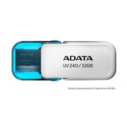 ADATA Flash Disk 16GB USB 2.0 Dash Drive UV240, White AUV240-16G-RWH