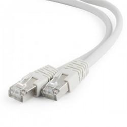 Gembird patch kábel S/FTP Cat. 6A LSZH, 15 m, šedý PP6A-LSZHCU-15M