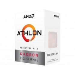 AMD, Athlon 3000G Processor BOX, soc. AM4, 35W, Radeon Vega 3 Graphics YD3000C6FHBOX