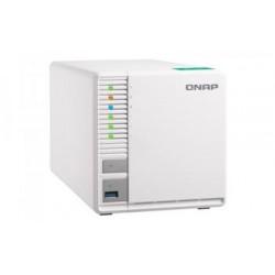 QNAP TS-332X-2G, 1,7 GHz QC/2GB/3xHDD/SSD/1xSFP+/2xGL/USB 3.0/R5/