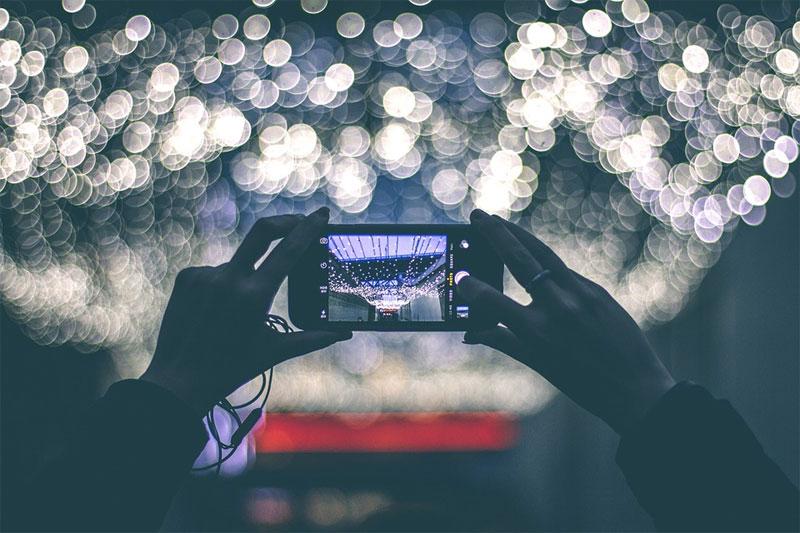 mobilný telefón fotoaparát
